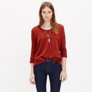 Madewell Size S Chronicle Texture Pullover Sweater